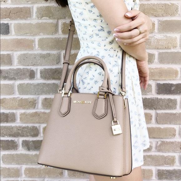 afc07147feb6 Michael Kors Bags | Medium Adele Mercer Messenger Bag | Poshmark